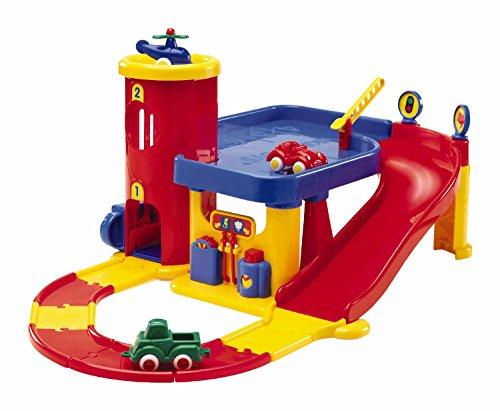 Viking Toys 5556 - Piccolo parcheggio con set strada