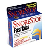 Snorestop Fast Tabs, 20 ct Boxes (Pack of 3)
