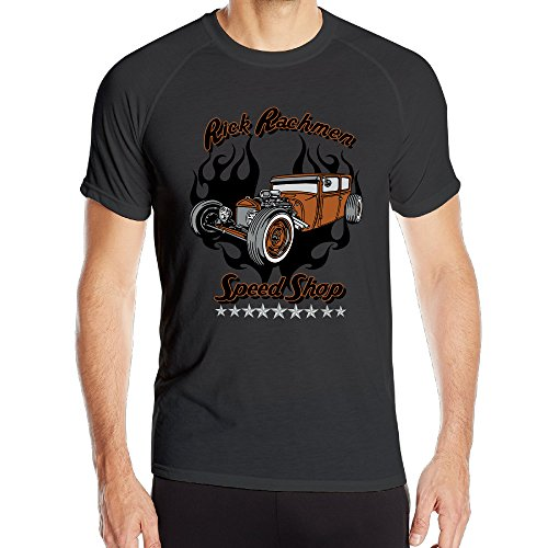 Speed Shop Man's Amazing Athletic Shirts Funny Running Shirts Vintage T Shirts (Infiniti G37 Black Emblem compare prices)