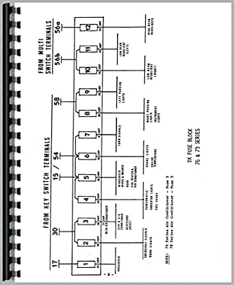 Ford 3930 Tractor Diagram