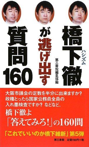 橋下徹(ハシズム)が逃げ出す質問160