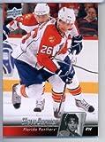 2010/ 11 Upper Deck Hockey Card # 326 Steve Bernier Panthers In A
