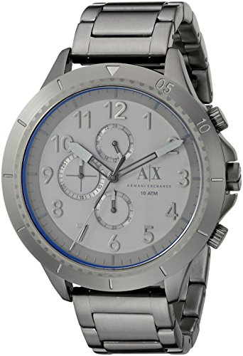 Armani-Exchange-Mens-AX1753-Analog-Display-Analog-Quartz-Grey-Watch