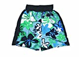 Splash About Kids Splash Board Shorts - Blue/Green, Child large (59cm waist)