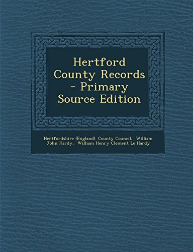 Hertford County Records