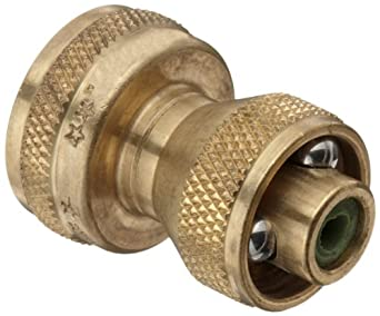 "Dixon AAPN75GHT Brass Adjust A Power Nozzle, 3/4"" GHT, 100 psi Pressure"