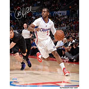 Chris Paul Los Angeles Clippers Autographed 16