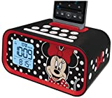 EKids DM-M23 Minnie Mouse Dual Alarm Clock Speaker System