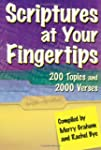 Scriptures at Your Fingertips: With O...