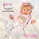 Paradise Galleries 19 inch Baby Doll That Looks Realistic & Lifelike Baby Doll, Happy Teddy, Baby Soft Vinyl