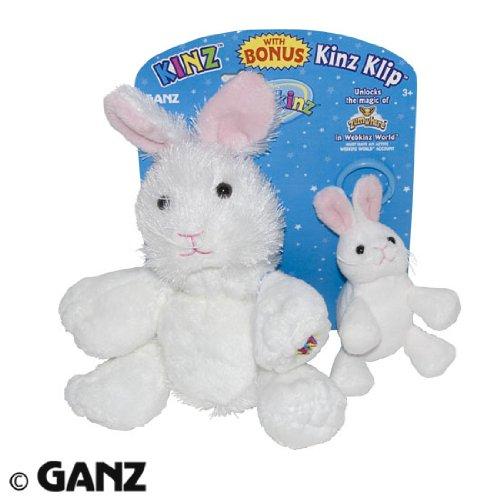 Webkinz Rabbit Kinz & Klip