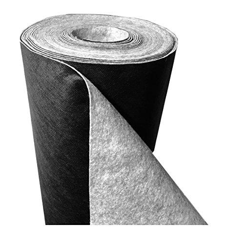 150 g/m² - Reißfestes Premium Unkrautvlies, Gartenvlies (L) 25 m x (B) 1,0 m x (H) 1,3 mm