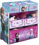 Delta Children Multi Bin Toy Organizer, Frozen Multi, Bin