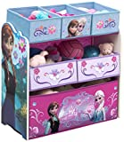 Delta Children Multi Bin Toy Organizer, Frozen Multi, Bin