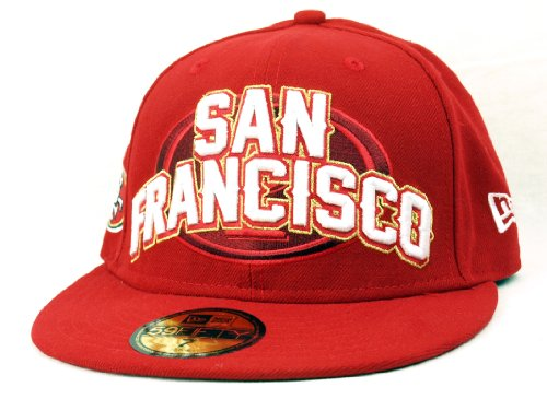 New Era NFL Onf Draft San Francisco 49ers Cap - Red / White - 7 at Amazon.com