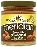 Meridian Nature's Energy Smooth Almond Butter (2 x 170g)