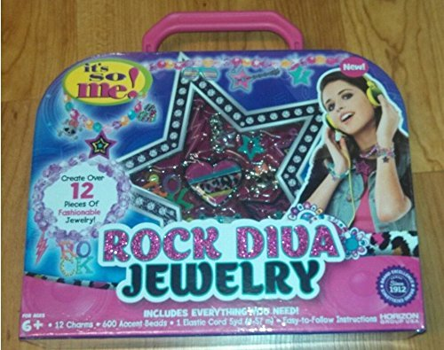 It's So Me! Rock Diva Fashion Jewelry Kit with Charms, Beads and More! - 1