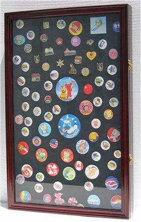 LARGE Pin Display Case Shadow Box Flag Display Case,