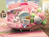 Our Precious Baby Girl Basket - Unique Shower Gift Idea for Newborns