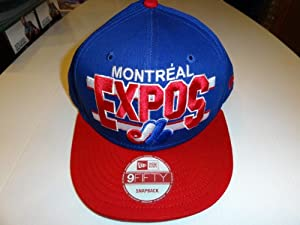 Montreal Expos 9FIFTY Snapback Hat New Era by New Era