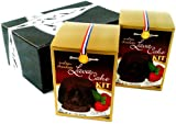 Dean Jacob's Molten Chocolate Lava Cake Kit, 7.5 oz Boxes in a Gift Box (Pack of 2)