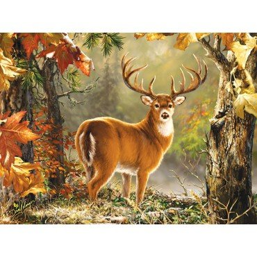 Whitetail 1000 Piece Jigsaw Puzzle by Sunsout Inc.