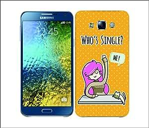 Galaxy Printed 2993 Whos Single Rain Hard Cover for Samsung GRAND Prime