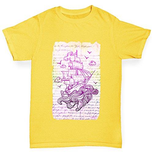 twisted-envy-maglietta-sportiva-maniche-corte-ragazzo-yellow-3-4-anni