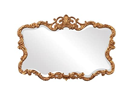 Howard Elliott 21188 Talida Mirror, Gold by Howard Elliott Collection
