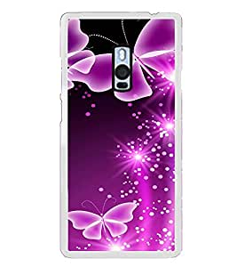 Butterflies 2D Hard Polycarbonate Designer Back Case Cover for OnePlus 2 :: OnePlus Two :: One +2