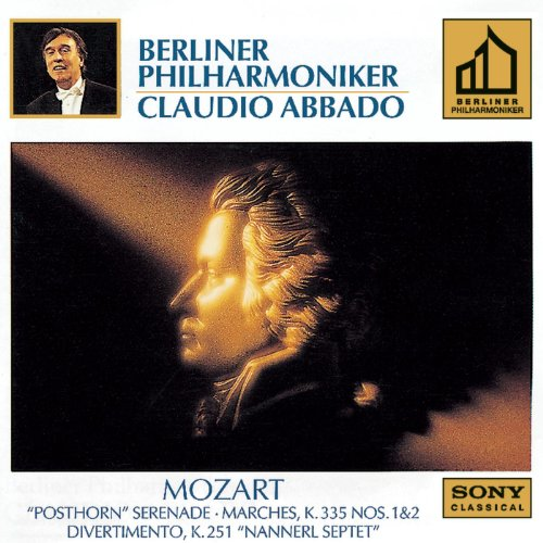 Mozart: Marches: K. 335, NO. 1 & 2; Serenade K. 320; Divertimento K. 251