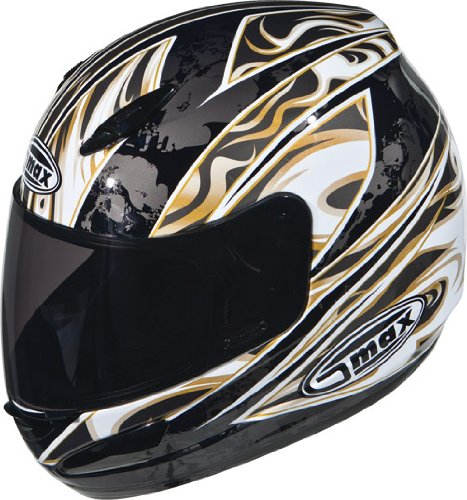 Buy Low Price G-Max GM48 Sant D Helmet, Silver/Black/White, Size: Md, Primary Color: Silver, Helmet Type: Full-face Helmets, Helmet Category: Street 1148545 TC-19 (1148545 TC-19)