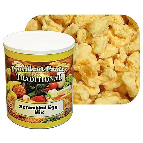 Provident Pantry Scrambled Egg Mix - Case Of 6 #10 Cans