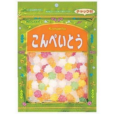 KASUGAI Konpeito Japanese Sugar Candy 140g/5oz