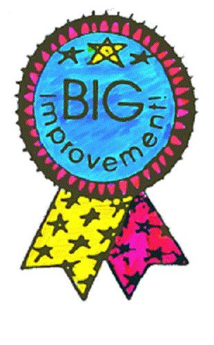 "Center Enterprise CE415 ""BIG IMPROVEMENT RIBBON"" Stamp"