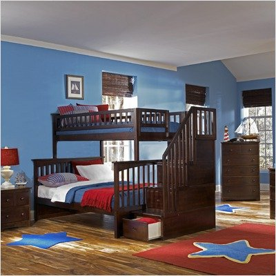 Cheap Furnitures  Sale on Furniture Ab55707 Columbia Staircase Bunk Bed   Best Cheap Sale