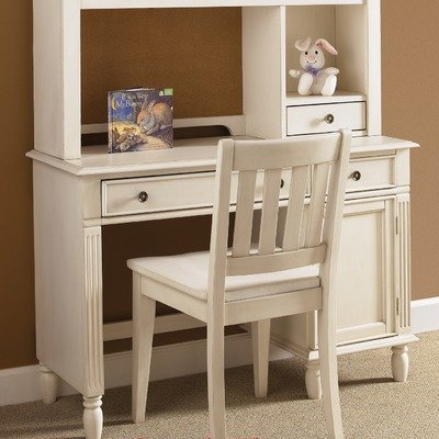 daydreams youth bedroom student desk chair in antique white childrens desks. Black Bedroom Furniture Sets. Home Design Ideas