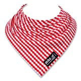 SKIBZ Dribble Bib - Red Gingham
