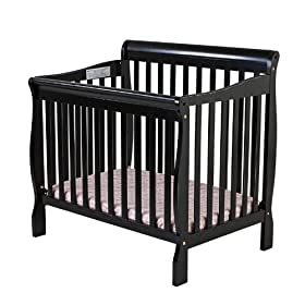 Dream On Me 3 in 1 Aden Convertible Mini Crib