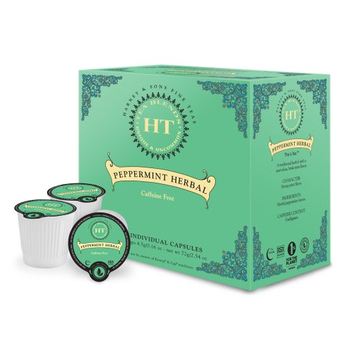 Harney & Sons Peppermint Herbal Tea Capsules (16 capsules)