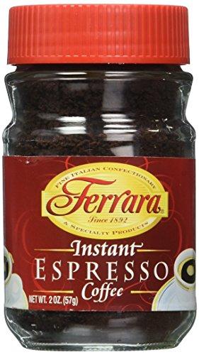 Ferrara Instant Espresso Coffee - Pack of 3 (2 oz each jar) (Instant Espresso compare prices)