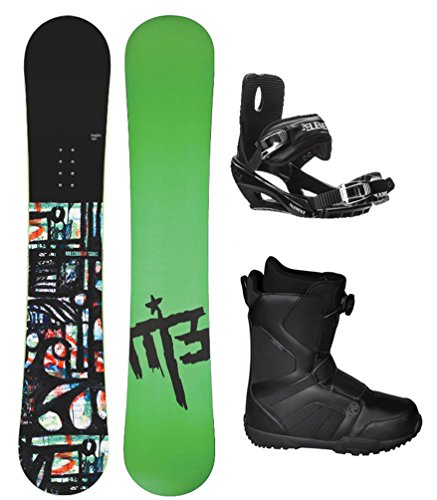 M3 Talon Men's Complete Snowboard Package Bindings+Flow BOA Boots- Board Size 160 (Boot Size 9) (Flow Snowboard Packages Mens compare prices)