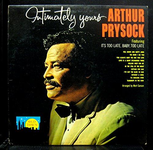 Arthur Prysock - intimately yours - Zortam Music