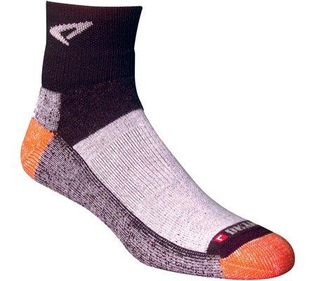 Drymax Drymax Socks Trail Running 1/4 Crew High Sock Socks,Black/Orange,L US