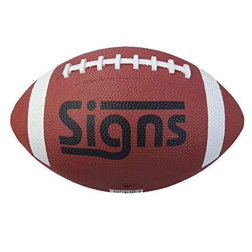 Signs(サインズ)アメリカンフットボール《カラー/ブラウン》