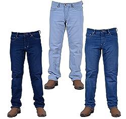 Meghz Comfort fit Men's Stretchable Jeans Size 36