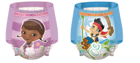 Pull Ups Night Time training pants are night time potty training pants with Disney graphics.