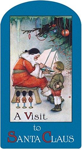 A Visit to Santa Claus (Shape Books)