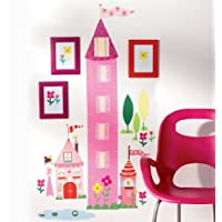 Wallies Princess Growth Chart Wall Decal