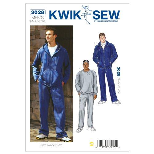 KwikSew Kwik Sew Schnittmuster 3028 Jogginganzug Gr. S-XXL